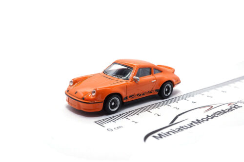 #452627900 1:87 SCHUCO PORSCHE 911 2.7 RS-Arancia rossa