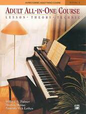 Piano Teach Yourself Play Adult All in One Course Lesson Theory Technic Level 1