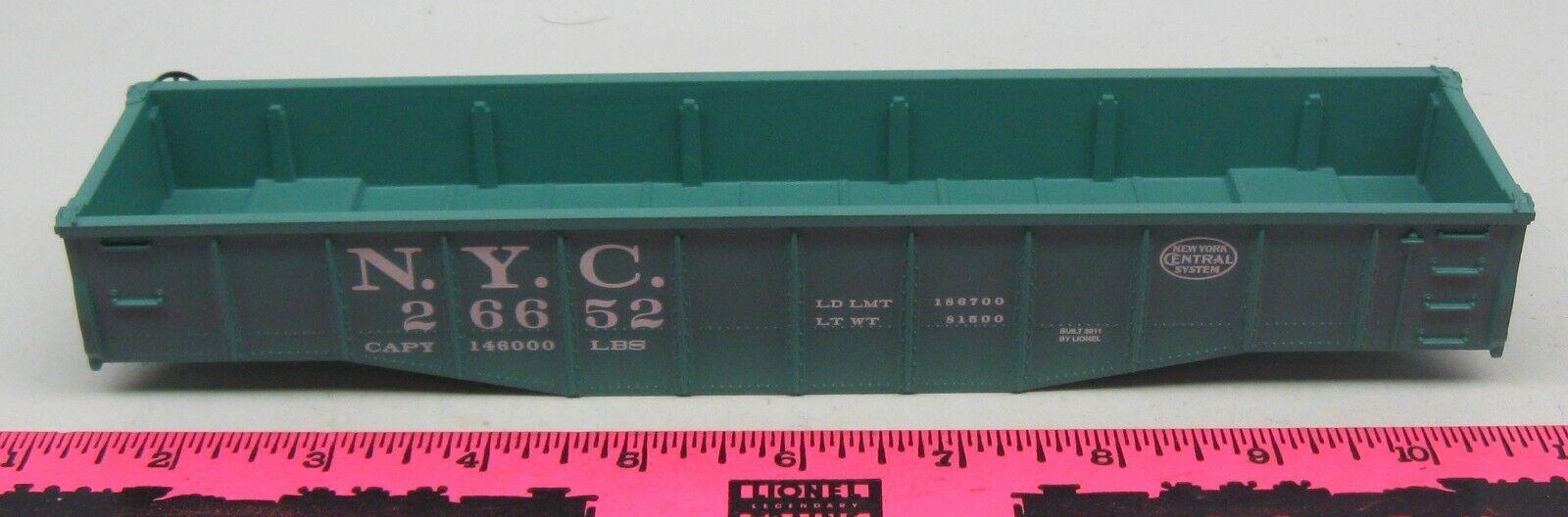 Lionel  26652 New York Central Gondola Shell