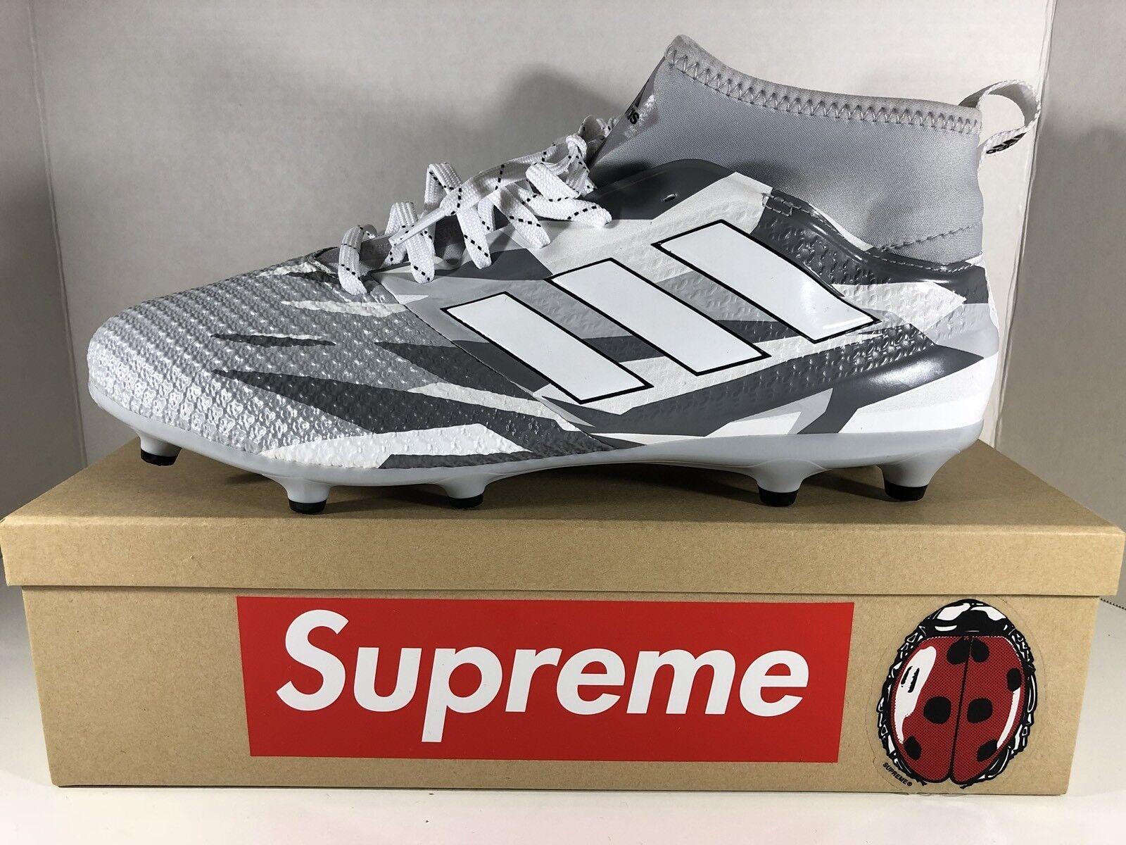 adidas ace 17,3 primemesh fg - stollenschuhe männer bb1015 grau - fg weißen schuhe der größe 12 1f6573