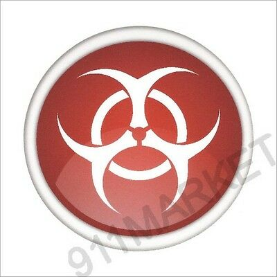 White Car Truck Sticker Rapid Response Team Apocalypse Zombie RRT Bio Decal