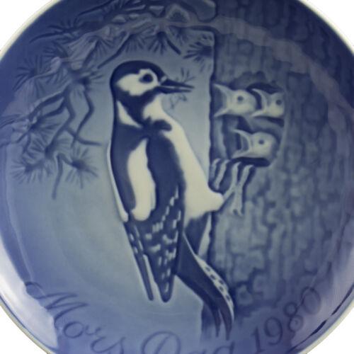 ROYAL COPENHAGEN BING/&GRONDAHL PIATTO FESTA DELLA MAMMA 1980 ORIGINALE PORCELLAN