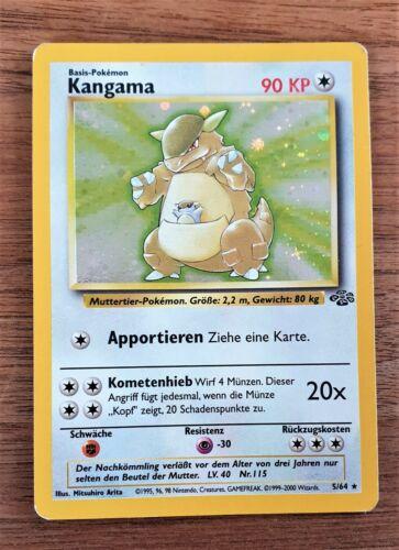 1999 Jungle Rare Holo Kangaskhan//kangama