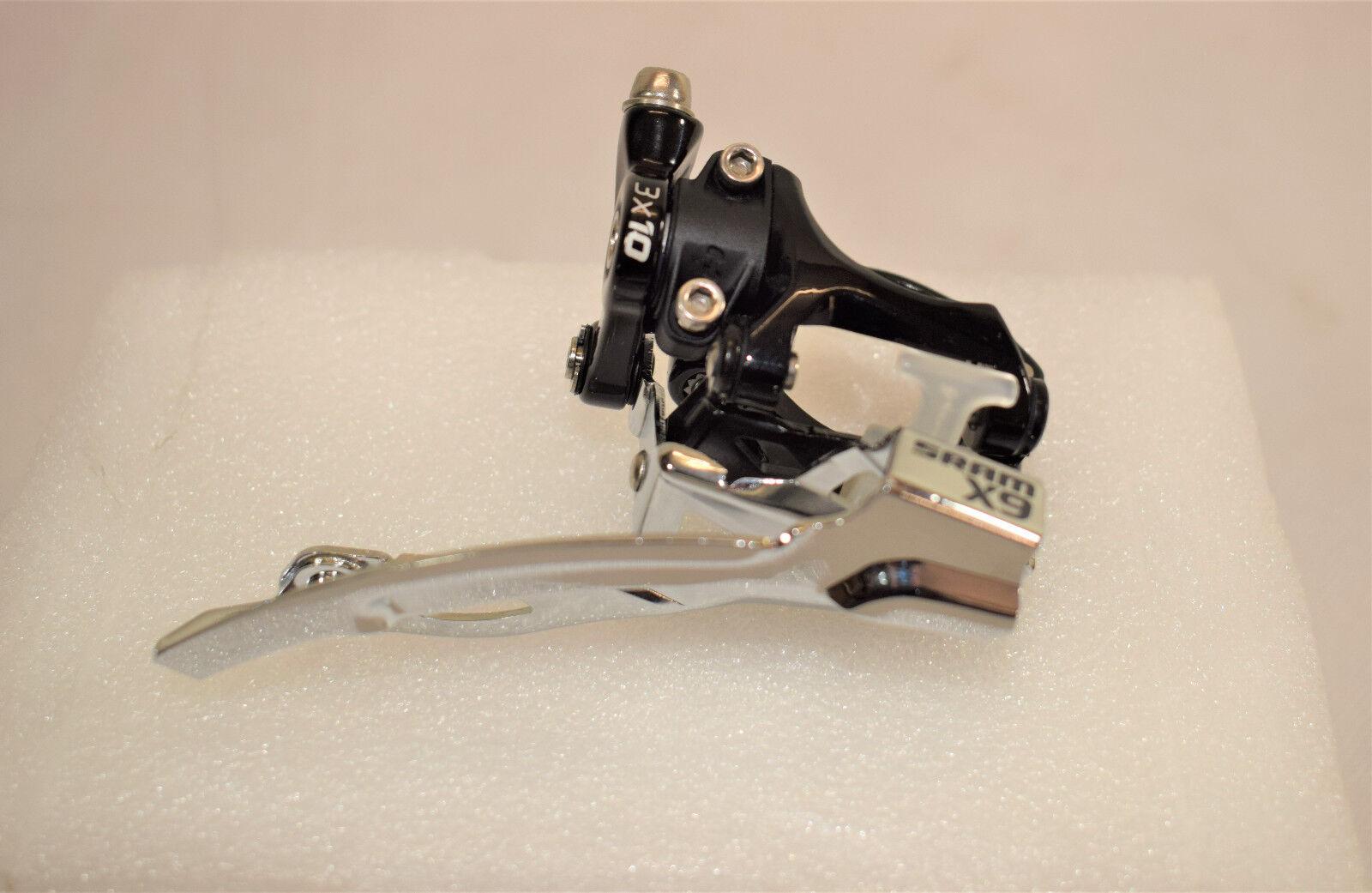 1 Sram X9, 3x10,Umwerfer,Neu, Bottom Pull, Low Clamp, High Swing, 35,0mm St006  | Vorzugspreis