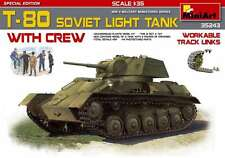 Miniart 1/35 T-80 Soviet Light Tank w/Crew SE #35243 *Sealed*New Release*