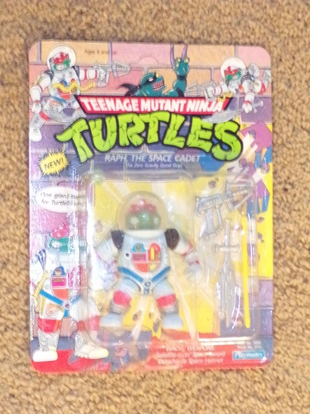 TMNT RAPH Space Cadet (Plamates)Action Figure and Accessories - UNPUNCHED