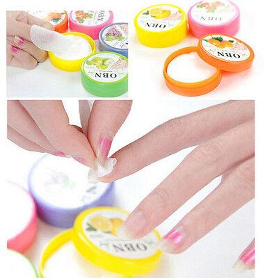 CB79 Flavor Wet Wipes Paper Towel Nail Art Polish Vanish Remover Pads 1Box 32pcs