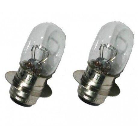 2 Ampoules phare pour Suzuki LTF 250 Quadrunner de 2001 à Nc