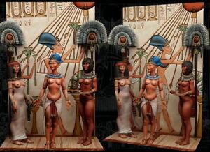Amarna-At-War-XVIII-Dynastie-75mm-3-Figure-El-Viejo-Dragon-Miniaturas-AS75-09