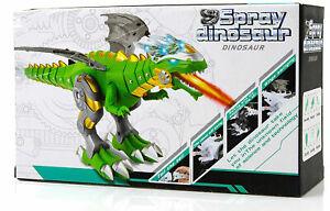 Walking spray animated Robot Dinosaur Toy for boys Child Kids 4 5 6 7 8 year old