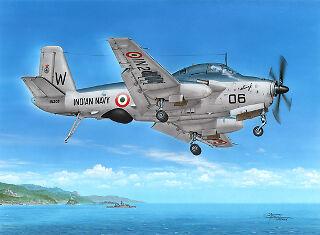 Frrom-Azur 1 72 Breguet 1050 Alize 1G India FR031