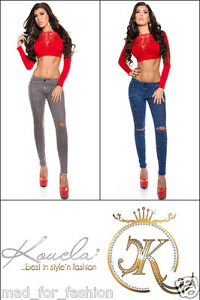 sexy-skinny-fin-jeans-dechire-sur-knees-UK-6-8-10-12-14-UE-34-36-38-40-42