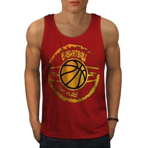 Best Active Sports Shirt Wellcoda Basketball Game Sport Mens Tank Top