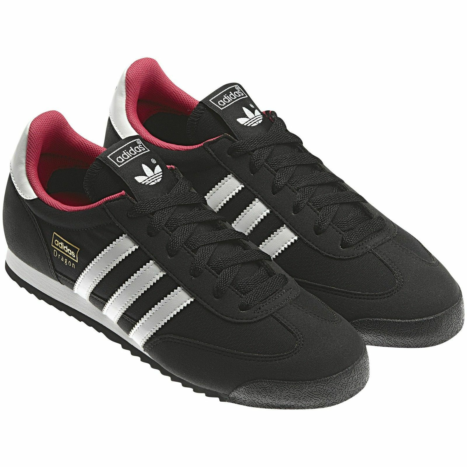 ADIDAS ORIGINALS DRAGON Damenschuhe TRAINERS BLACK UK SIZE 4.5