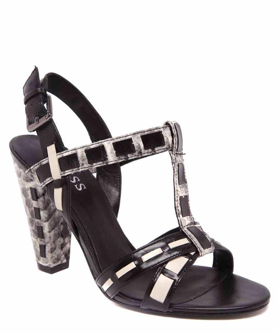 Guess fl 1 pkrlea 03 [] señora fashion-sandalias negro nuevo & OVP