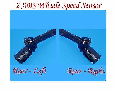 Set 2 ABS Wheel Speed Sensor  Front Audi Porsche VW Left /& Right Fits
