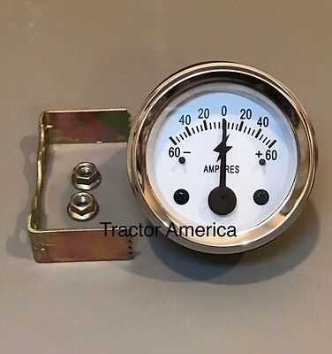 Massey Ferguson Massey Harris 60 Amp Ammeter Gauge For Alternator Tractors
