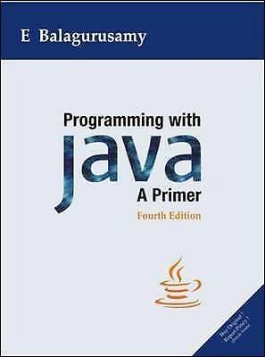 Programming with Java : A Primer by Balagurusamy, E.-ExLibrary