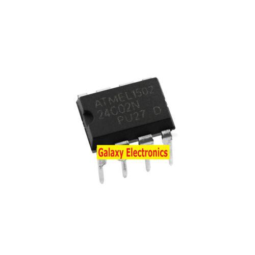 serial EEPROM DIP8 30//50//110pcs New AT24C02 24C02N 24C02BN 24C02 memory