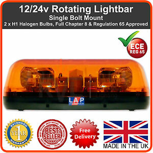 Amber flashing recovery lightbar beacon light bar 12v 24v warning image is loading amber flashing recovery lightbar beacon light bar 12v aloadofball Image collections