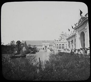 Glass-Magic-Lantern-Slide-WORLDS-COLUMBIAN-EXPOSITION-NO29-1893-PHOTO-CHICAGO