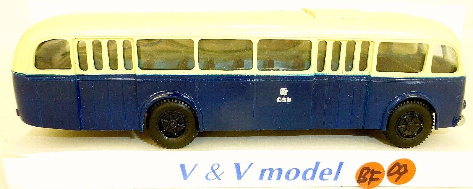 CSD 1947 Skoda typ 706 RO mestsky Bus V&V 218 H0 1 87 BF09 å