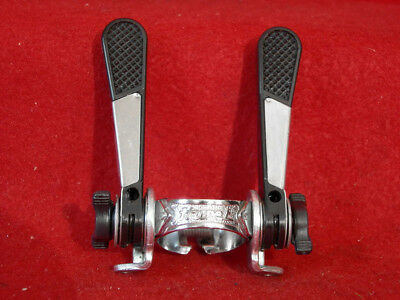 Simplex Shift Lever Levers 2 x 5 Speed Downtube 1 pc Clamp On France Road Used
