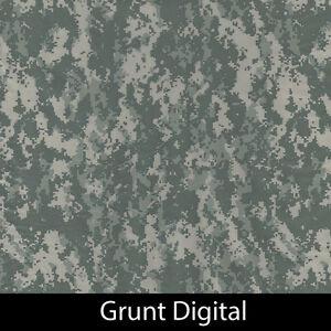 Grunt Digital Camo Army Hydrographic Film animal dip stick hydro hunting gun