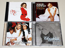 4 CD SET CHRISTMAS SARAH CONNOR CHRISTINA AGUILERA MARIAH CAREY DESTINY'S CHILD