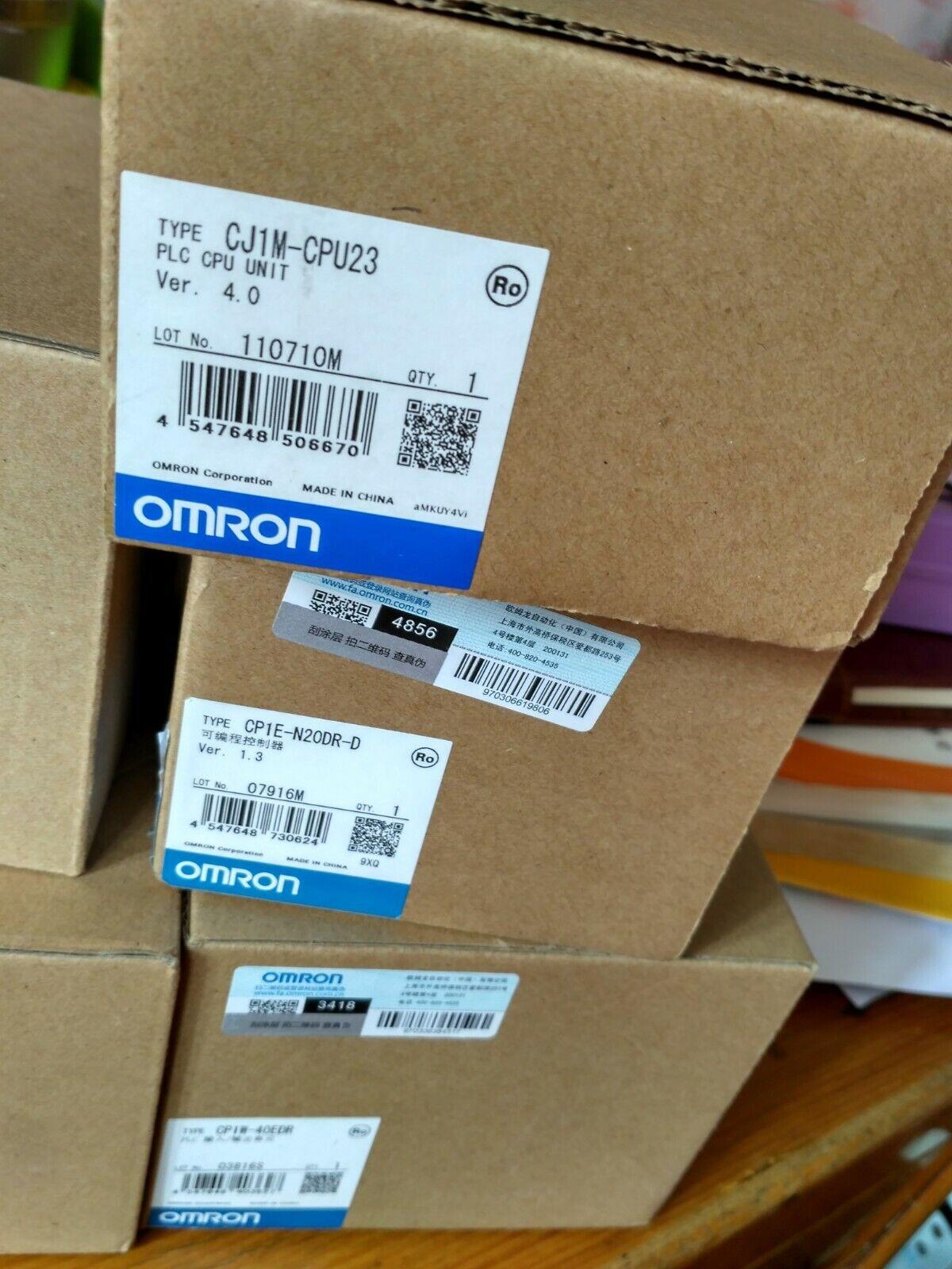 Nouveau CJ1M-CPU23 CJ 1 détaillent 23 OMRON CPU UNIT