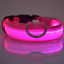 LED-Light-up-Dog-Collar-Pet-Night-Safety-Bright-Flashing-Adjustable-Nylon-Leash thumbnail 10
