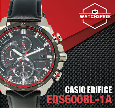 Casio Edifice solaire montre chronographe EQS600BL 1A   eBay  bKlHP