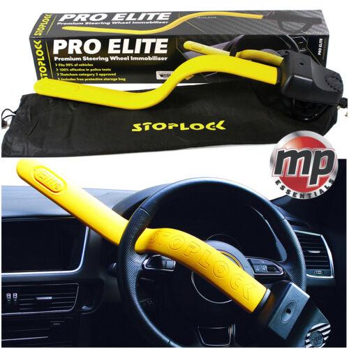 Stoplock Pro Elite Anti Theft Steering Wheel Lock to fit Ford Fiesta All Years