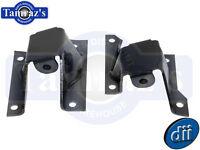 58-64 Chevrolet Full Size Engine Frame Mounts - Pair