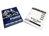 Ford 2600, 3600, 4100, 4400 Tractor Operators Manual Maintenance Guide Book