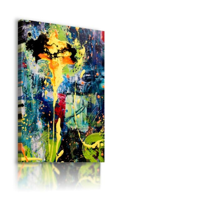 PAINTING THERAPY MODERN DESIGN PRINT CANVAS WALL ART PICTURE AB833 MATAGA .