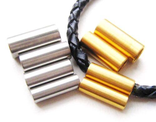 Edelstahl Magnetverschluss Schmuckverschluss Kettenverschluss für Bänder 3-6mm