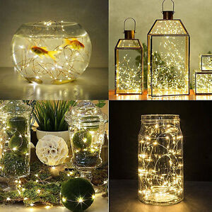 20-30-50-100-LED-String-Copper-Wire-Fairy-Lights-Battery-Powered-WaterproofDS