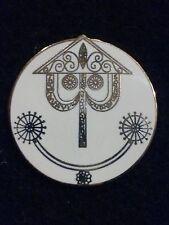 CAST MEMBER DISNEYLAND IT'S A SMALL WORLD CLOCK FACE CAST RECOGNITION AWARD PIN
