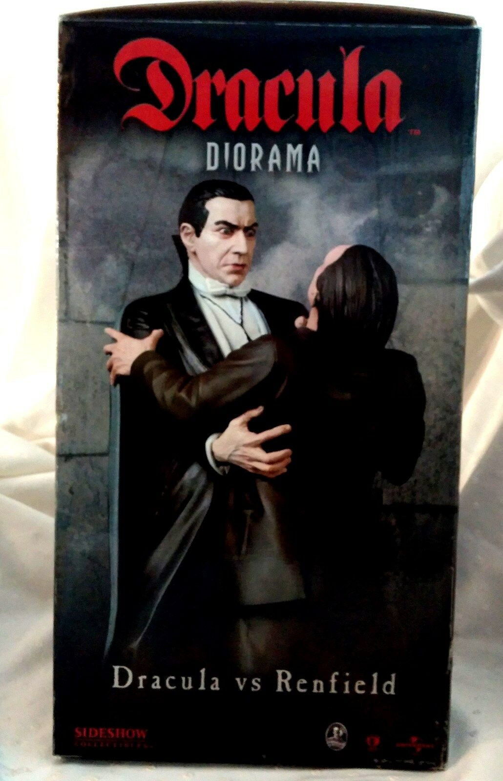 Dracula vs renfield diorama, zirkus, limited edition