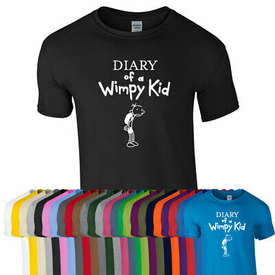 DIARY OF A WIMPY KID WORLD BOOK DAY 2019 T-SHIRT MEN WOMEN KIDS Girls Gift Tops