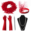 1920S 20S GATSBY CHARLESTON FLAPPER FANCY DRESS ACCESSORIES FOR COSTUME KIT