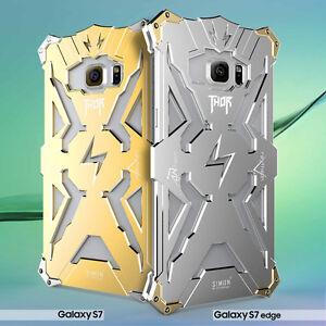 Shockproof Simon Thor Aluminum Metal Bumper Case Cover For Samsung S6 S7/S8 Plus