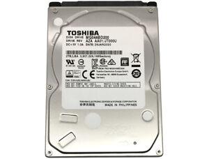 """NEW TOSHIBA MQ04ABD200 2TB 5400RPM 128MB SATA 6Gb/s (9.5mm) 2.5"""" Laptop /PS4 HDD"""