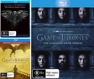 Game-Of-Thrones-SEASON-4-5-amp-6-NEW-Blu-Ray