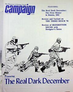 "Vintage ""Campaign"" #110 Magazine 1982 The Real Dark December"
