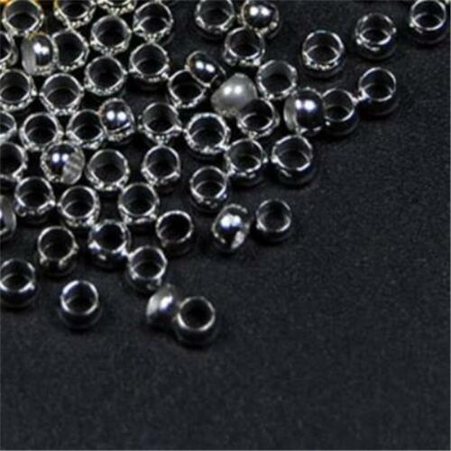 200Pcs Hollow Brass Beads for Fly Tying Nymph Scud Belly Eyes//Spinner Lure Beads
