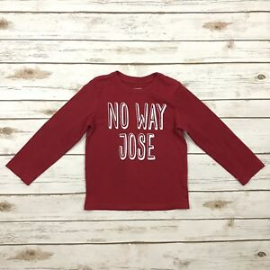 18b53f59b CHILDREN'S PLACE Boys Size 4T Red Long Sleeved Graphic Tee Shirt ...