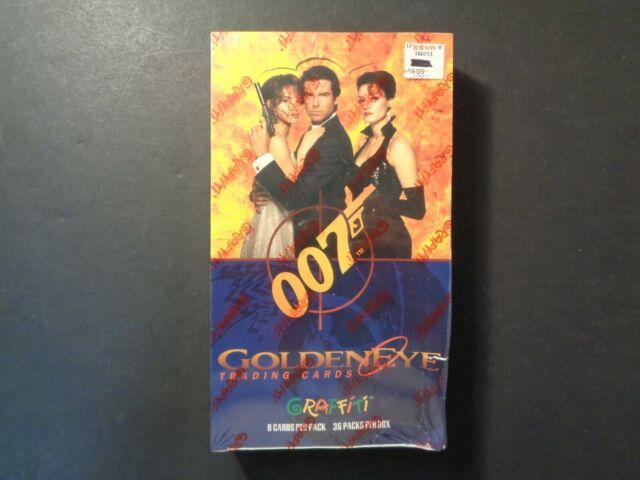 James Bond Goldeneye Artcards Pack 1 Pierce Brosnan Memorabilia Gift Wall Art