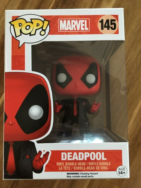 Funko Pop Marvel Deadpool Dressed To Kill Edition #145